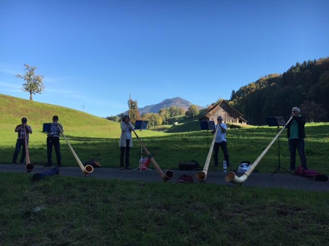 Alphorn-Intensivkurse Oktober 2017