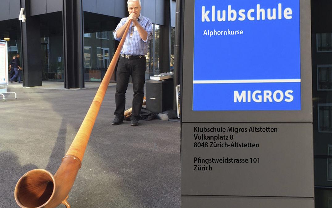 Eröffnungsfeier Klubschule Migros Altstetten