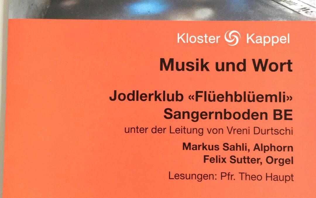 Musik und Wort im Kloster Kappel